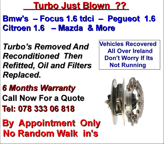 Bmw Turbo Repairs
